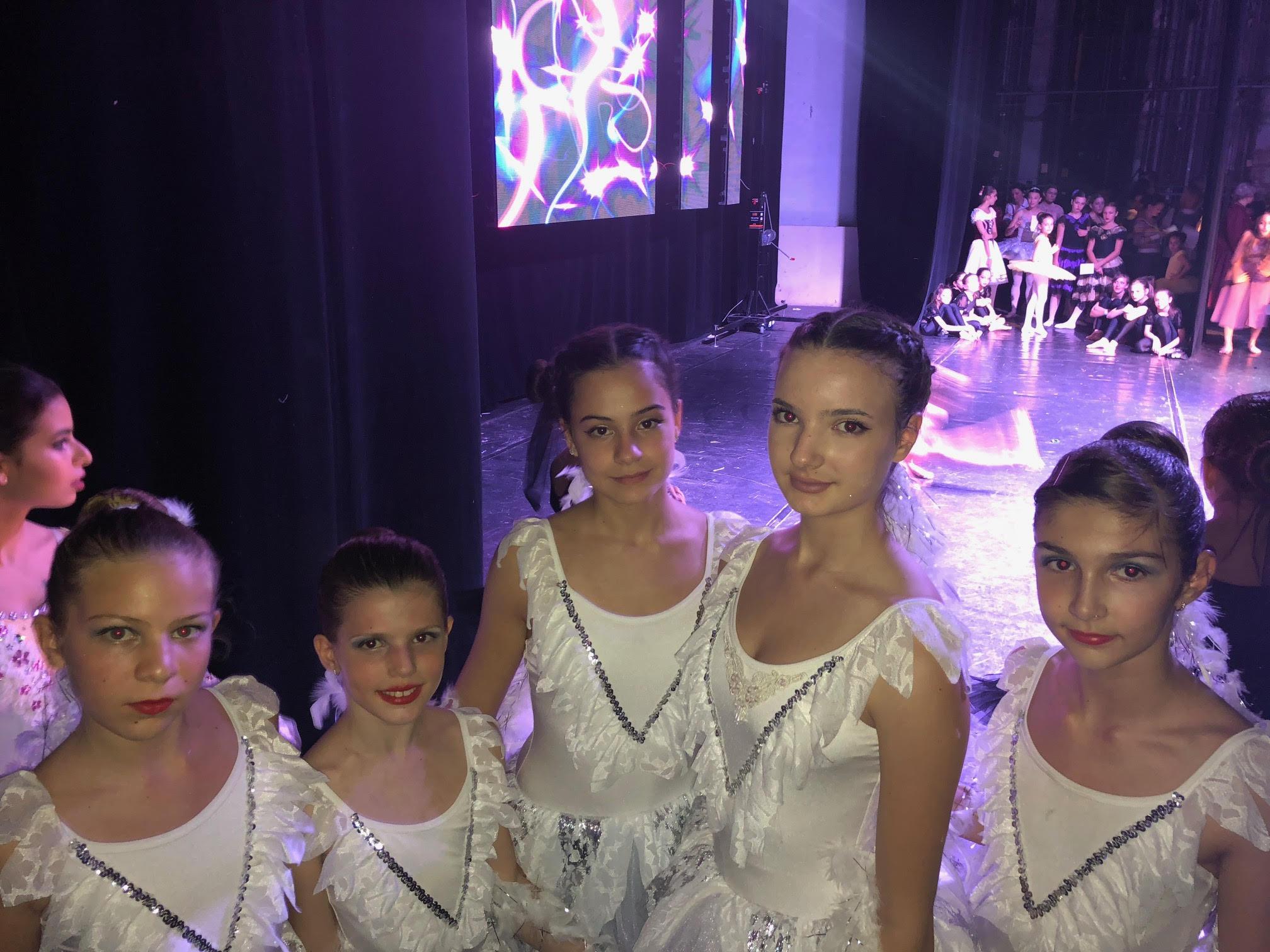 Призове от Румъния 2018 на възпитаничките на балетна школа КЛАСИК -М